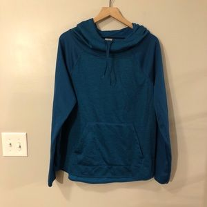 Champion Duo Dry LS Hooded Pullover Size XL